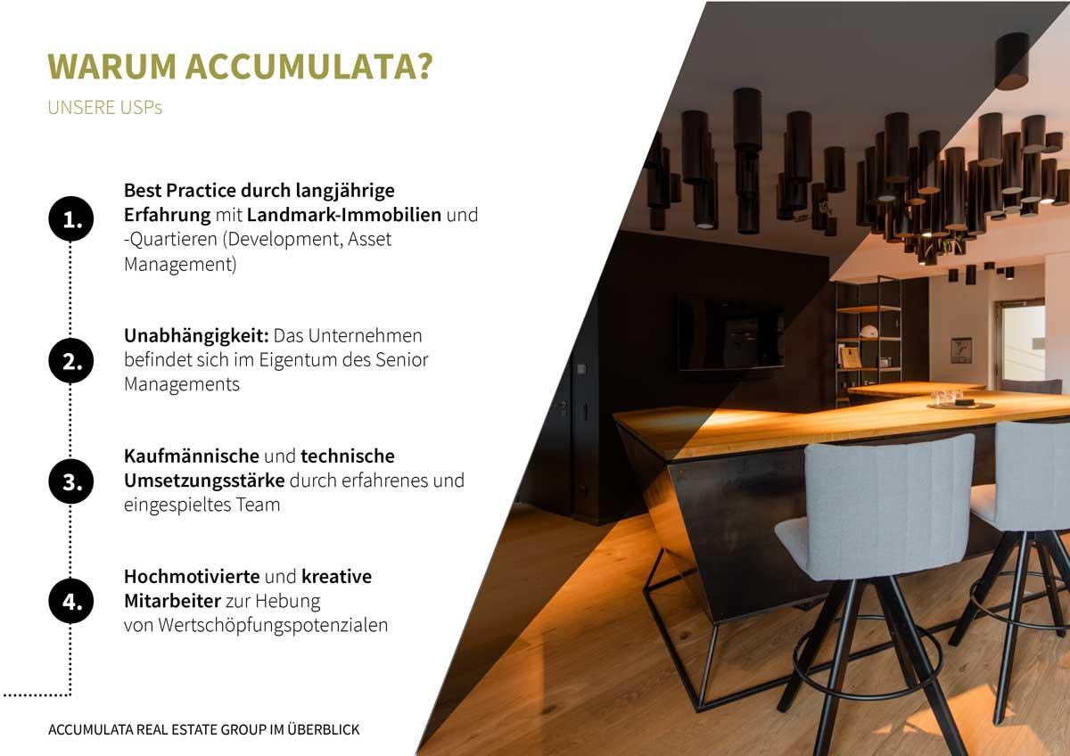 ACCUMULATA PowerPoint Unternehmenspräsentation