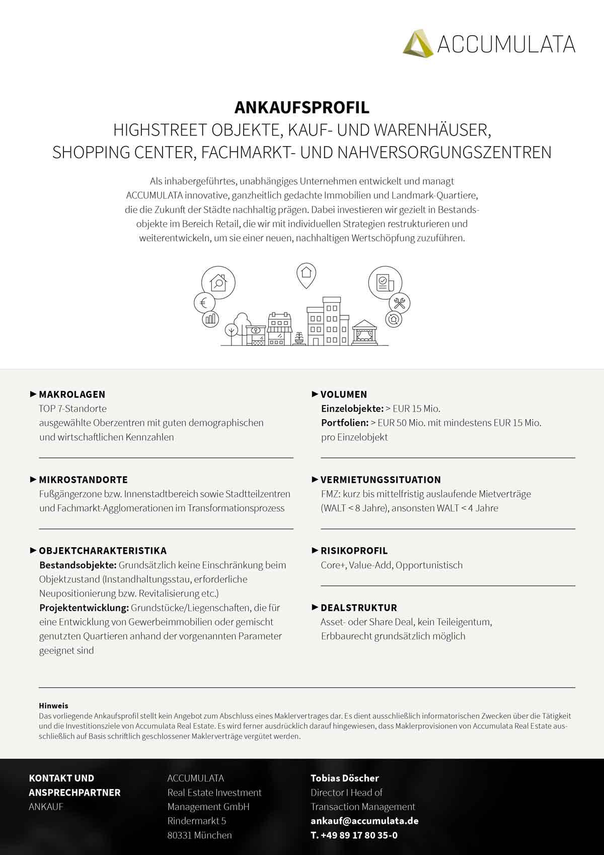 ACCUMULATA Download-pdf für Webseite mit allen Infos zum Ankaufsprofil von Immobilien